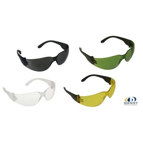 Óculos de Proteção mod. ÁGUIA  Incolor, Fumê (Cinza), Verde Âmbar (amarelo)  ou Antiembaçante.Marca DANNY a2db464f90