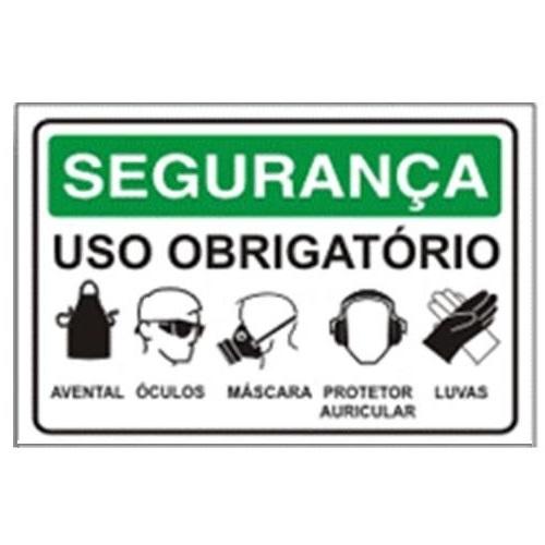 274da51c297e1 PLACA  USO OBRIGATÓRIO DE EPIs