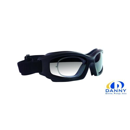 Óculos de Proteção, Ampla Visão com Clip mod. DANNY D- TECH - para  colocação de LENTES de GRAU a0ae7ef6ef